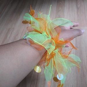 Accessories - 3/$15! Handmade Halloween Pumpkin Accessory